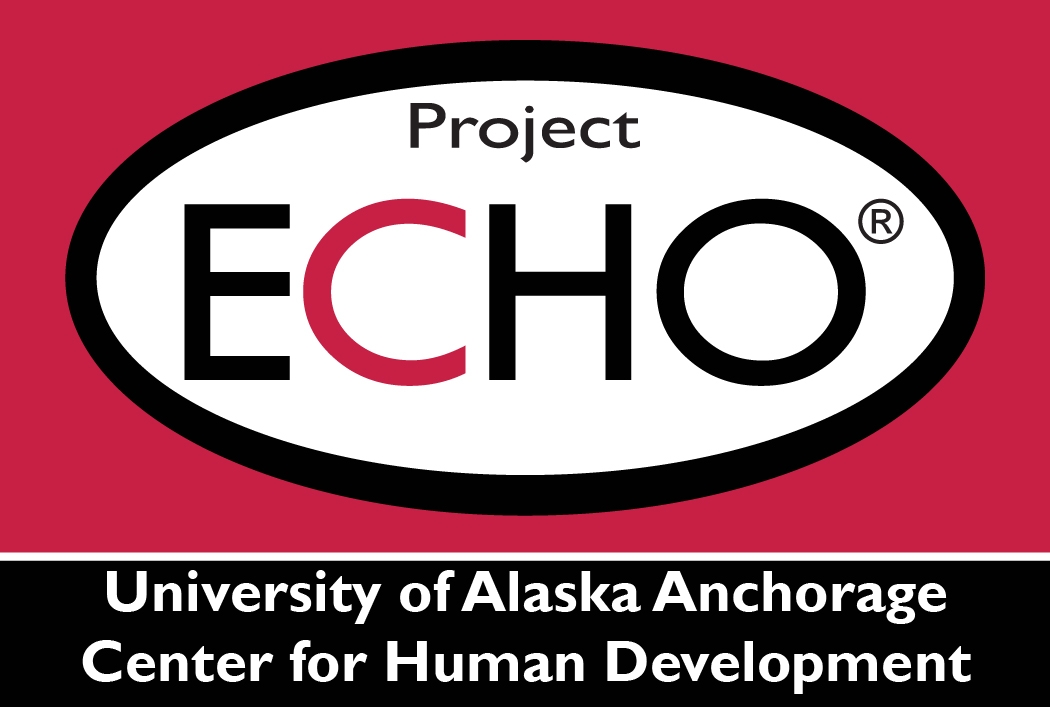 University of Alaska Center for Human Development Project ECHO Logo